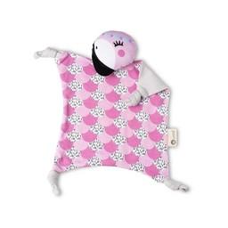 Kippins Couverture de Sécurité de Kippins/Kippins Security Blanket, Flamant Rose/Flamingo