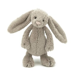 Jellycat Lapin Bashful Beige de Jellycat/Jellycat's Bashful Beige Bunny, Mini/Small, 7 pouces/inches