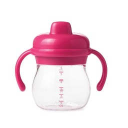 OXO Gobelet de Transition à Poignée de OXO/OXO Transition Sippy Cup with Handles, Rose/Pink