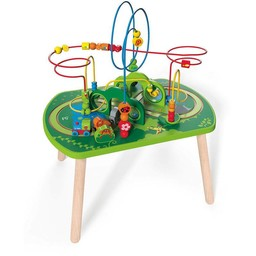 Hape Hape - Table d'Activités Circuit Jungle/Jungle Play & Train Activity Table