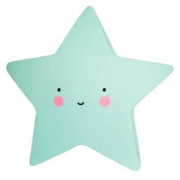 A Little Lovely Company Mini Veilleuse Étoile de A Little Lovely Company/A Little Lovely Company Mini Star Light, Menthe/Mint