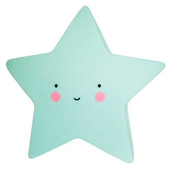 A Little Lovely Company Mini Veilleuse Étoile de A Little Lovely Company/A Little Lovely Company Mini Star Light, Menthe/Mint