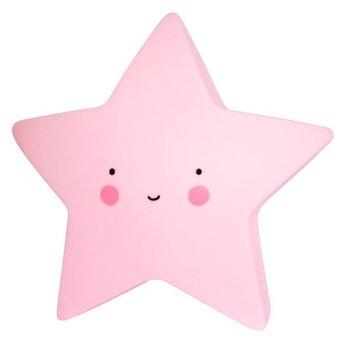 A Little Lovely Company Mini Veilleuse Étoile A Little Lovely Company/A Little Lovely Company Mini Star Light, Rose/Pink