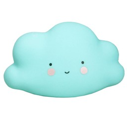 A Little Lovely Company A Little Lovely Company - Mini Veilleuse Nuage/Mini Cloud Light, Bleu/Blue