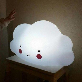 A Little Lovely Company Grande Veilleuse Nuage A Little Lovely Company/A Little Lovely Company Big Cloud Light, Blanc/White