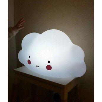 A Little Lovely Company Grande Veilleuse Nuage A Little Lovely Company/A Little Lovely Company Big Cloud Light, Blanc/White