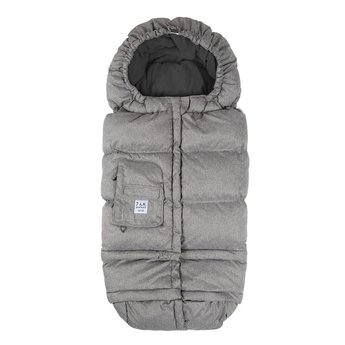 7 A.M Enveloppe Hivernale Blanket 212 Évolution de 7AM/7AM Blanket 212 Evolution Footmuff, Gris Chiné (Gris)/Heather Grey (Grey)