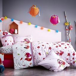 Catimini Catimini - Housse de Couette pour Lit Double/Duvet Cover for Double Bed, 198x218cm, Rêve d'Automne