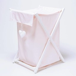 Bouton Jaune Bouton Jaune - Panier à Linge/Laundry Basket,  Toi, Moi, Coco Rose -202 Taille Unique