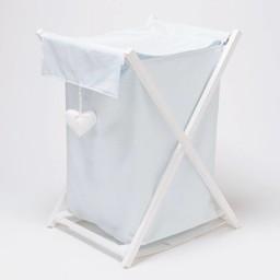 Bouton Jaune Bouton Jaune - Panier à Linge/Laundry Basket,  Toi, Moi, Coco Bleu -203 Taille Unique