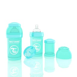 Twistshake Twistshake - Biberon Anti-Colique/Anti-Colic Bottle, 180ml, Turquoise
