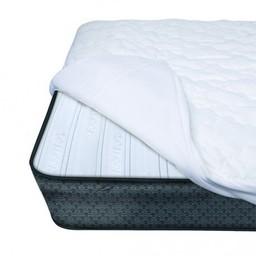 Baby's Journey Drap de Protection pour Matelas IComfort de Baby's Journey/Baby's Journey IComfort Premium Crib Mattress Pad - Blanc/Windowpane