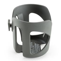 Stokke Stokke - Porte-Gobelet pour Poussette/Stokke Stroller Cup Holder, Gris Foncé/Dark Grey