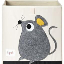 3 sprouts Boîte de Rangement de 3 Sprouts/3 Sprouts Storage Box, Souris/Mouse