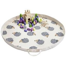 3 sprouts Tapis de Jeux en Sac de 3 Sprouts/3 Sprouts Play Mat Bag, Hérisson/Hedgehog