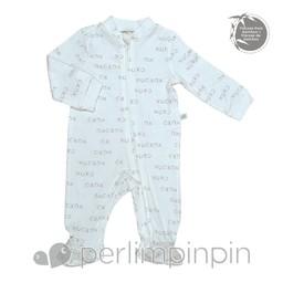 Perlimpinpin Pyjama à Pattes en Bambou de Perlimpinpin/Perlimpinpin Bamboo Footie Sleeper