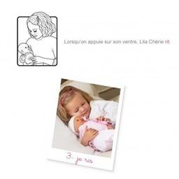 Corolle Poupée Classique Intéractive Lila Chérie de Corolle/Corolle Lila Chérie Classic Interactive Doll