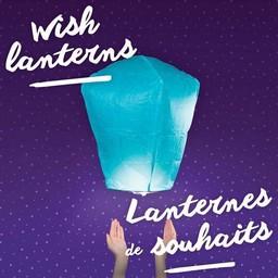 Nouwee Lanternes de Souhaits de Nouwee/Nouwee Wish Lanterns, Rose/Pink