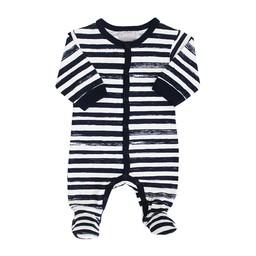 Coccoli Pyjama à Pattes Rayé de Coccoli/Coccoli Striped Footie