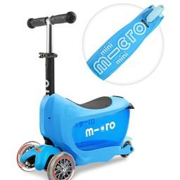 Kickboard Canada Kickboard - Trottinette Micro Mini2go Deluxe/Micro Mini2go Deluxe Scooter, Bleu/Blue