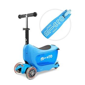 Kickboard Canada Trottinette Micro Mini2go Deluxe/Micro Mini2go Deluxe Kickboard, Bleu/Blue