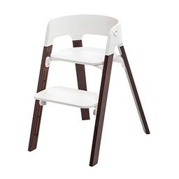 Stokke Stokke Steps - Ensemble Complet Chaise Haute/Complete Kit High Chair, Brun/Walnut Brown, Taille Unique/One Size