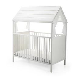 Stokke Stokke Home - Canopée pour Lit de Bébé/Stokke Home Bed Roof, Blanc/White