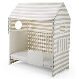 stokke stokke home tente pour lit de bbstokke home bed tent rayures - Lit De Bebe
