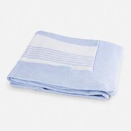 Mayoral *Couverture en Coton de Mayoral/Mayoral Cotton Blanket, Bleu Ciel/Sky Blue