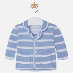 Mayoral *Veste en Tricot Rayée de Mayoral/Mayoral Striped Knit Sweater
