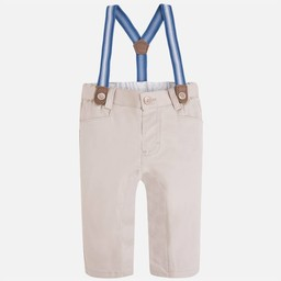 Mayoral *Pantalon à Bretelles de Mayoral/Mayoral Pants with Suspenders