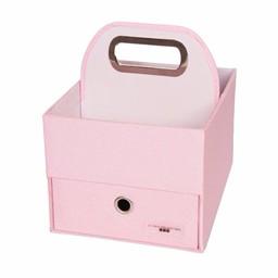 JJ Cole Panier pour Couches et Lingettes de JJ Cole/JJ Cole Diapers and Wipes Caddy, Rose/Pink