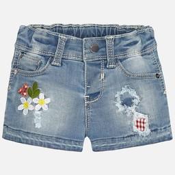 Mayoral *Short en Jeans Patchwork de Mayoral/Mayoral Patchwork Jeans Shorts