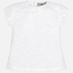 Mayoral *T-Shirt Manches Brodées de Mayoral/Mayoral Embroidered Sleeves T-Shirt