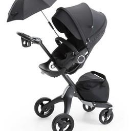 Stokke Stokke Xplory - Poussette/Stokke Xplory Stroller, Noir Véritable/True Black