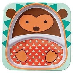 Skip Hop *Assiette à Compartiments Zoo de Skip Hop/Skip Hop Zoo Divided Plate, Hérisson/Hedgehog