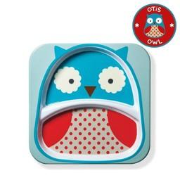 Skip Hop *Assiette à Compartiments Zoo de Skip Hop/Skip Hop Zoo Divided Plate, Hibou/Owl