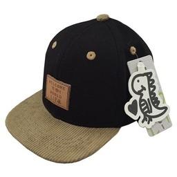L&P Casquette Brooklyn de L&P/L&P Brooklyn Cap Noir/Black 2T-5T