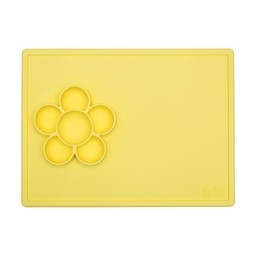 Ezpz *Napperon de Jeu Fleur d'Ezpz/Ezpz Flower Play Mat, Citron/Lemon