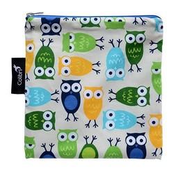Colibri *Grand Sac à Collation de Colibri/Colibri Large Snack Bag, Hiboux/Owls