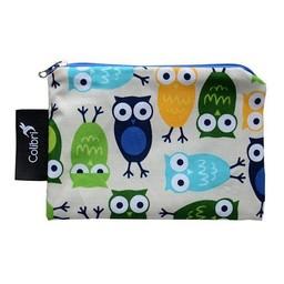 Colibri Petit Sac à Collation de Colibri/Colibri Small Snack Bag, Hiboux/Owls