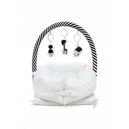 DockATot Arche de Jeu de DockATot/DockATot Toy Bar, Rayé Noir et Blanc/Black and White Striped