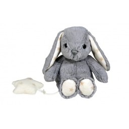 Cloud B Peluche Hugginz Lapin Gris Musical de Cloud B/Cloud B Hugginz Musical Grey Bunny