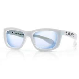 Shadez Lunettes de Protection pour Lumière Bleue Shadez/Shadez Blue Light Eyewear Protection, Blanc/White, 3-7 ans/years