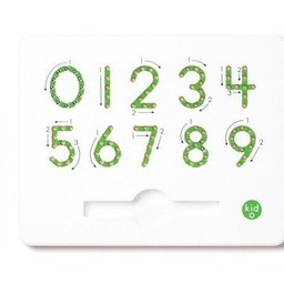 Kid O KidO - Tableau Magnétique des Nombres 0-9/ 0-9 Numbers Magnatab