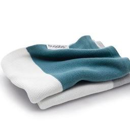 Bugaboo Bugaboo - Couverture en Coton Légère/Bugaboo Light Cotton Blanket, Bleu Pétrole/Petrol Blue