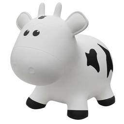 Farm Hoppers Ballon Sauteur de Farm Hoppers/Farm Hoppers Jumping Animals, Vache - Blanc/Cow - White