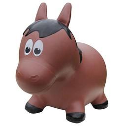 Farm Hoppers Ballon Sauteur de Farm Hoppers/Farm Hoppers Jumping Animals, Cheval - Brun/Horse - Brown