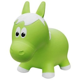 Farm Hoppers Farm Hoppers- Ballon Sauteur/Jumping Animals, Cheval - Vert/Horse - Green