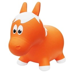 Farm Hoppers Ballon Sauteur de Farm Hoppers/Farm Hoppers Jumping Animals, Cheval - Orange/Horse - Orange